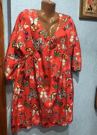 Блуза-туніка большой размер/батал