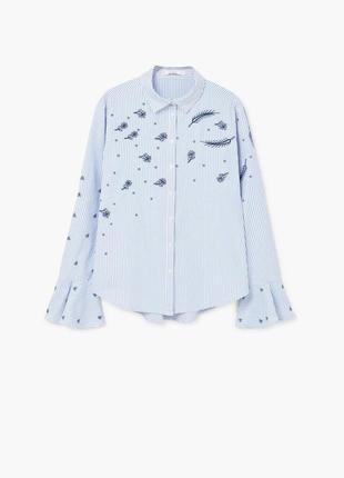 Новая рубашка вышиванка манго l