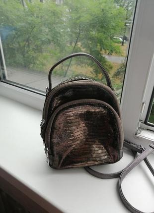 Рюкзак натуральная замша