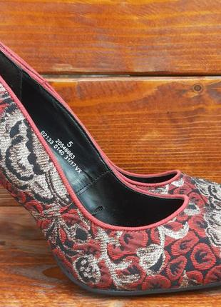 Шикарные туфли,туфлі,лодочки m&s collection