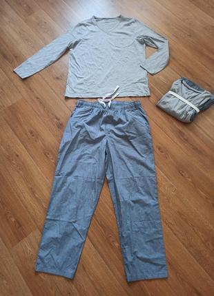 Домашний костюм реглан и брюки пижама livergy