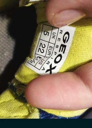 Кроссовки geox для мальчика , размер 22
