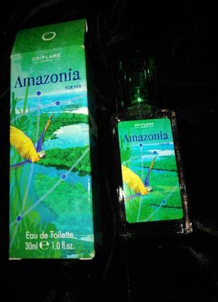Мужские духи amazonia oriflame. 30 мл.