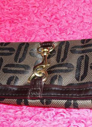 Кошелек cocoa purse - oriflame коричневого цвета.