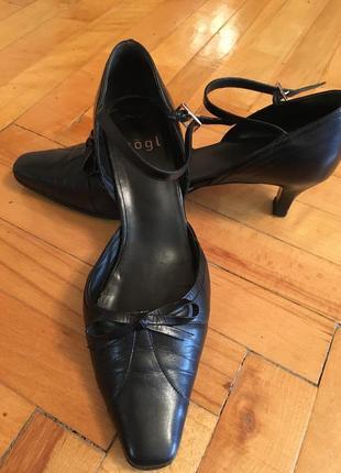 Кожаные туфли hogl 38