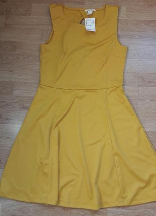 🔥распродажа🔥🎉🎉новое трикотажное платье h&m
