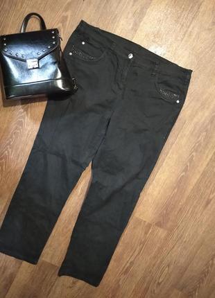 ❤️❤️❤️насыщено черные джинсы скинни мом ботал