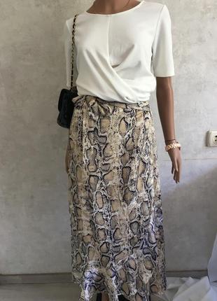 Стильная юбка в принт