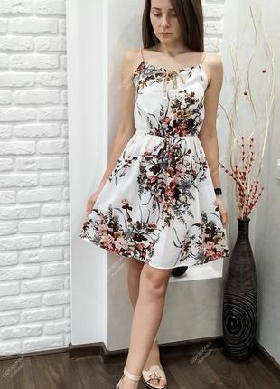 Сарафан мини, платье летнее