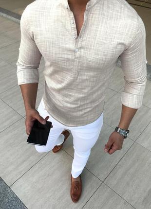 Мужская рубашка хлопковая
