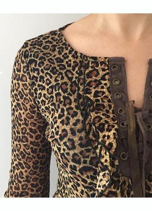 Блуза, кофточка, леопардовая кофточка.