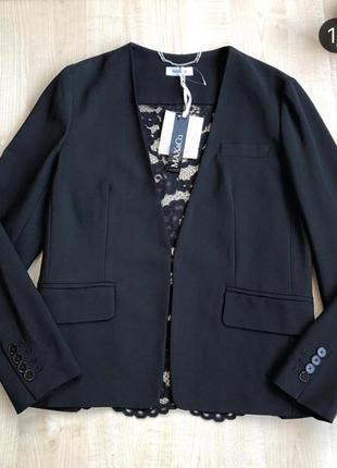 Пиджак с кружевной спинкой max&co🖤🖤