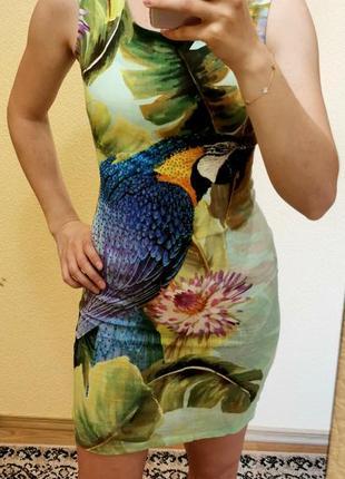 Платье летнее льняное италия
