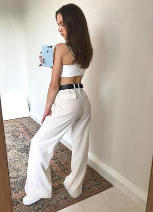 Брюки палацо довгі брюки