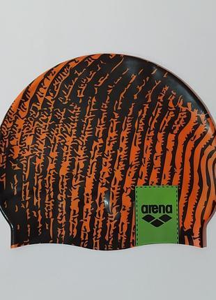 Arena оригинал силиконовая шапочка для плавания а17