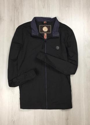 F9 ветровка харик pretty green курточка куртка мужская черная темная