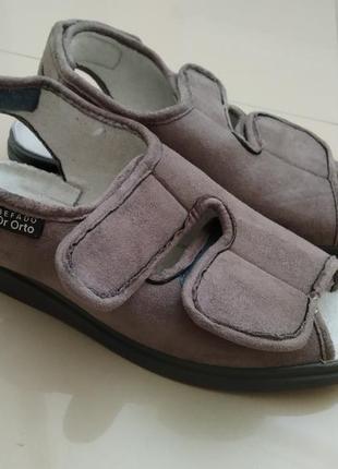 42 и 40 р. dr. orto новые ортопедические диабетические босоножки сандалии на широкую ногу