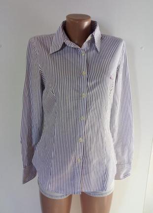 Жіноча сорочка в полоску (женская рубашка в полоску)