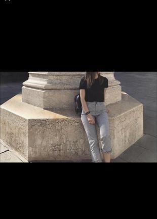 Летние укорочённые брюки zara