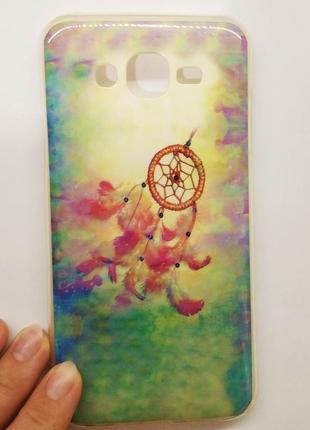 Силиконовый чехол на телефон самсунг samsung galaxy чехол на мобильный ловец снов накладка