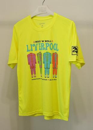 Бігова футболка rock'n'roll marathon series liverpool - m-l унісекс