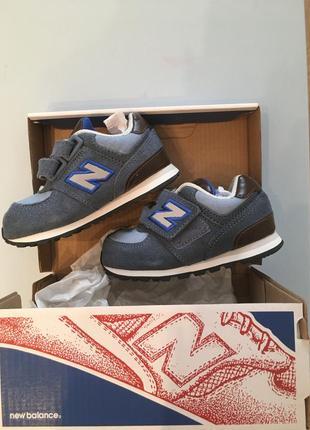 Новые детские кроссовки для мальчика newbalance 6