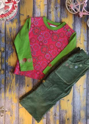 Набор кофта и штаны для девочки miobic, (92 см)