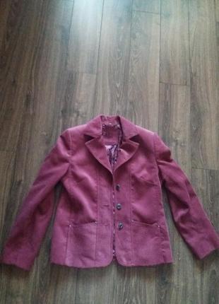 Продам вельветовый пиджак
