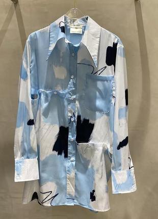 Необычная рубашка с разрезами