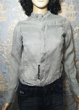 G-star пиджак летний лен р. xs