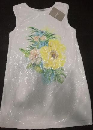 Класна туніка/плаття з паєтками mayoral