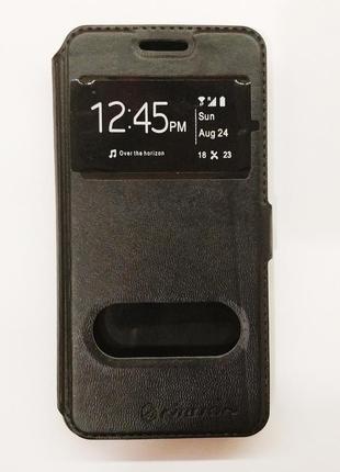 Чехол книжка на телефон экокожачехлы для samsung galaxy a3 2016 силикон накладка