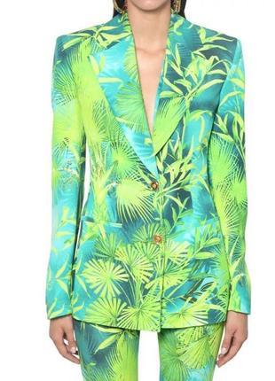Пиджак блейзер в стиле versace по скидке !