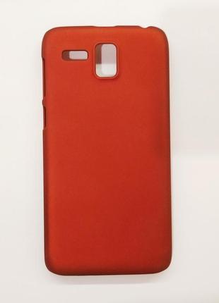 Матовый чехол для телефона lenovo ленова накладка на мобильный