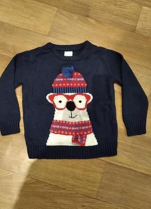 Новогодний свитерок
