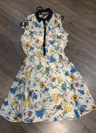 Платье романтичное летнее с подкладкой