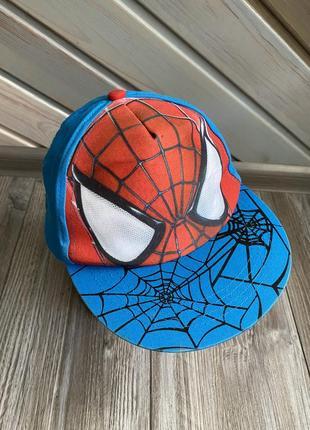 Кепка бейсболка человек паук marvel 6-8л