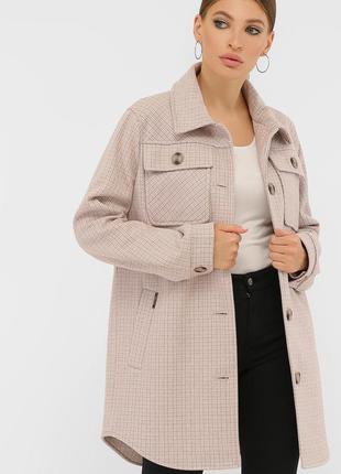 Пальто в рубашечном стиле