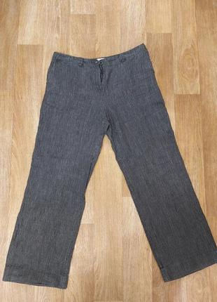 Лёгкие летние брюки в стиле бохо лён