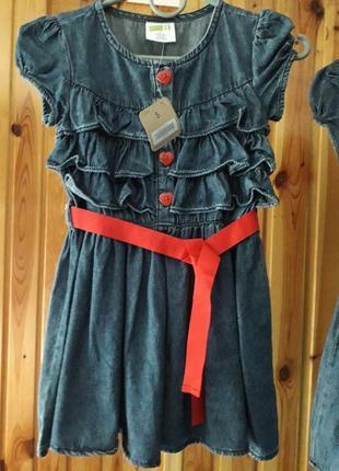 Літнє платтячко джинс