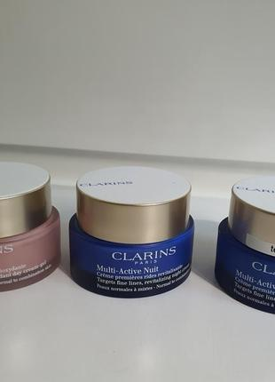 Уход за кожей лица от clarins multi active