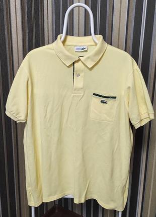 Мужская футболка поло lacoste chemise