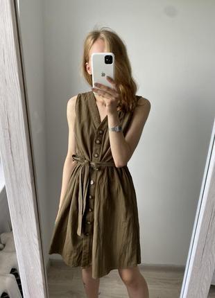 Платье на пуговках pieces
