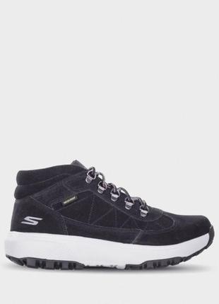 Skechers, ботинки мужские, оригинал. натуральная кожа,ecco,timberland.