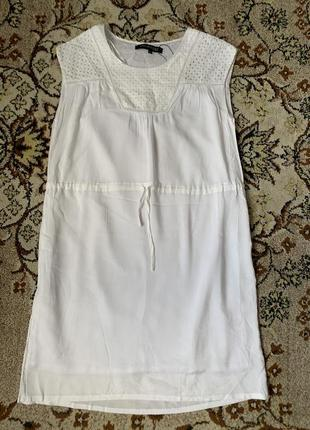 Платье тонкое с подкладкой хлопковой