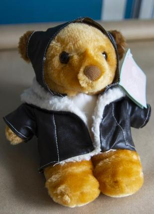 Мягкая игрушка медведь пилот