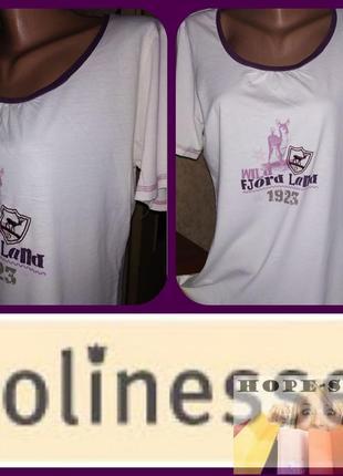 💞домашнее белое платье -футболка,ночная рубашка,сорочка 44/50