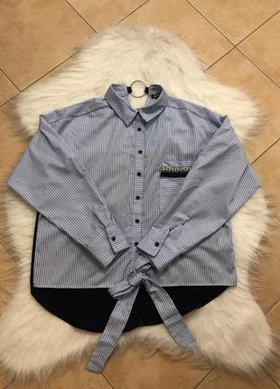 Стильна оригінальна рубашка сорочка