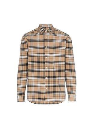 Рубашка burberry размер s { оригинальная винтажная / vintage }