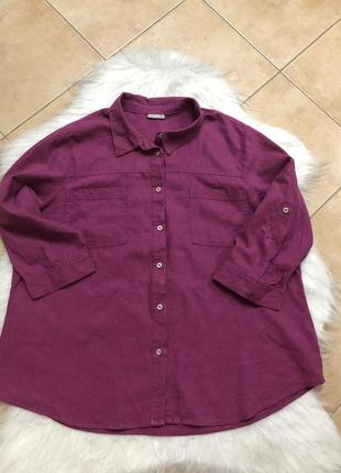 Сорочка рубашка лён